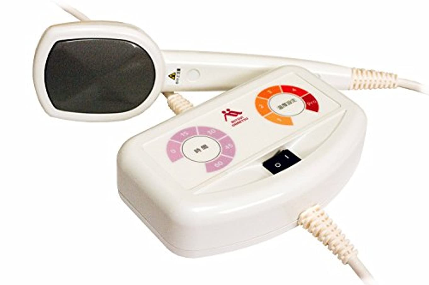 暴力スラッシュお世話になった家庭用温熱治療器「三井式温熱治療器3」
