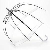 DCAH 傘、透明なバードケージの傘大アングルレインレトロロングストレートハンドル傘9 傘立て (色 : F f)