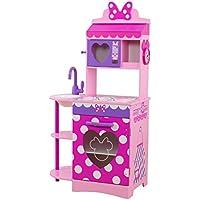 KidKraft Disney Jr。Minnie Mouse幼児用キッチン再生キッチン