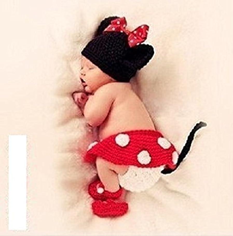 めまいほこりっぽい家庭教師Sherry ミニー コスチューム 寝相アート ベビー服 着ぐるみ 新生児 赤ちゃん 出産祝い