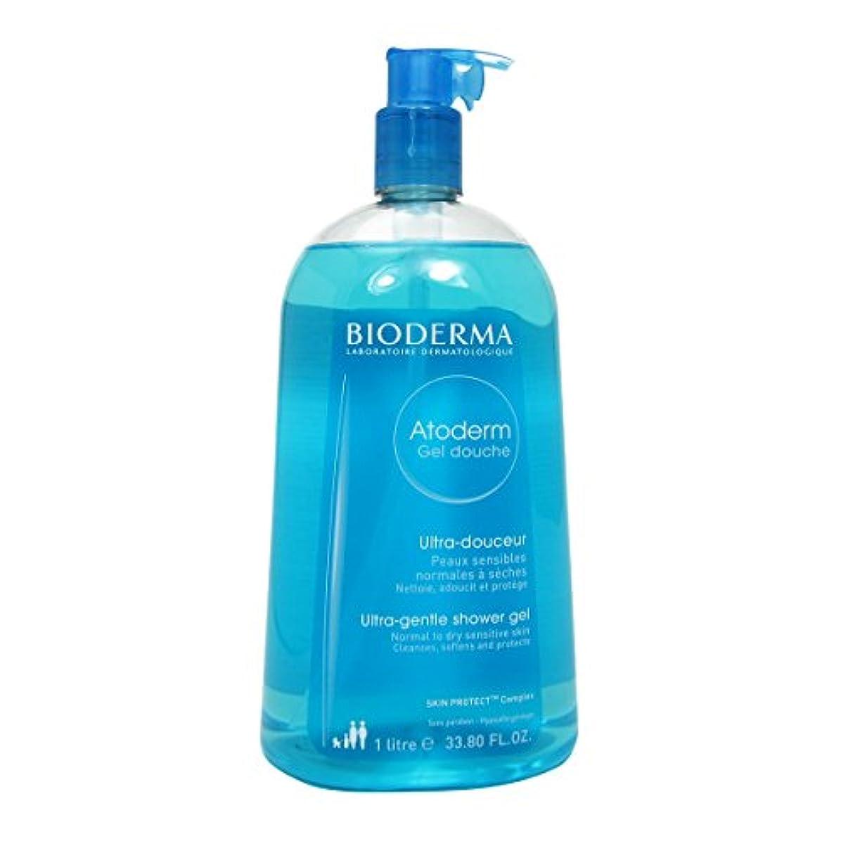 ビジュアルおとなしいアンソロジーBioderma Atoderm Gentle Shower Gel 1000ml [並行輸入品]