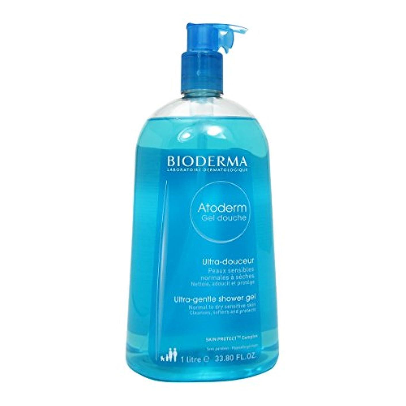 確認してください入力おもちゃBioderma Atoderm Gentle Shower Gel 1000ml [並行輸入品]