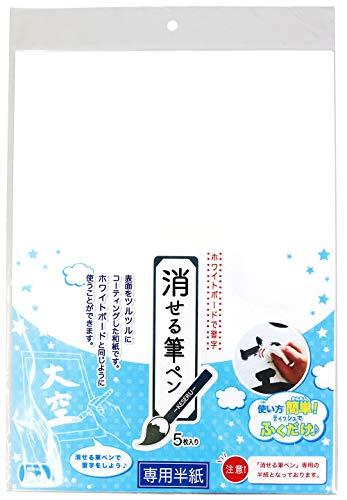 エポックケミカル 半紙 消せる筆ペン用 636-0400