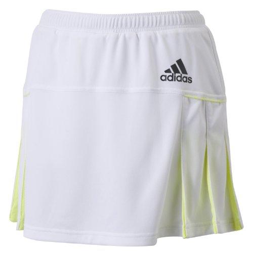 (アディダス)adidas W clima スコート AKV48 D82264 ホワイト/グロー S14 J/L