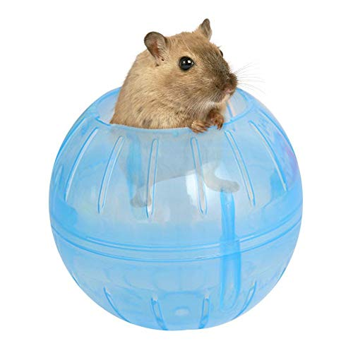 小動物ランナーボール ハムスターとマウス ランナーボール ハムスターの運動不足解消に ( ブルー)