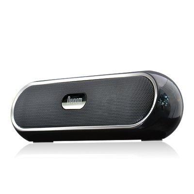 Divoom バッテリー搭載 3W×2出力 MP3プレーヤー&スピーカー iTour-Boom Black