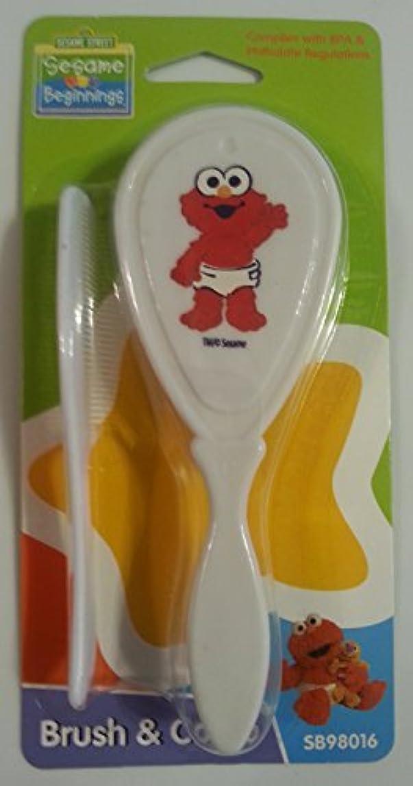 フェリー乱暴なアンドリューハリディSesame Street Beginnings - Baby Elmo Brush & Comb [並行輸入品]