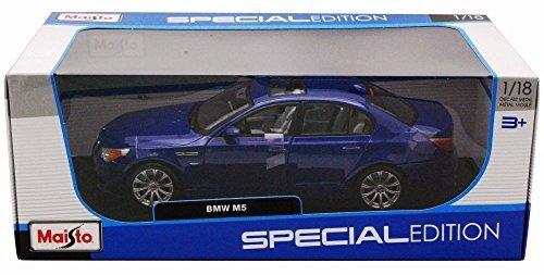 BMW M5 Blue - Maisto 31144 - 1/18 Scale Diecast Model Toy Car [並行輸入品]