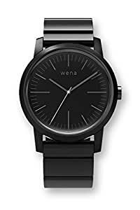 [wena project] wena wrist Three Hands Premium Black WN-WT01B