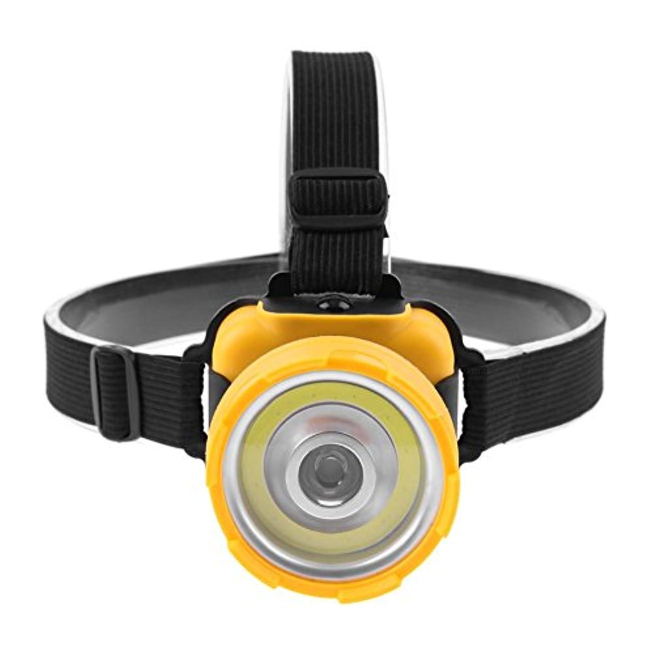 接触いまテスピアンRuncircle ライトヘッド ランプ キャンプ用 防水ヘッド 釣りヘッド マウントマイナーランプ 屋外 長距離サーチライト ハイキング (電池含まず)