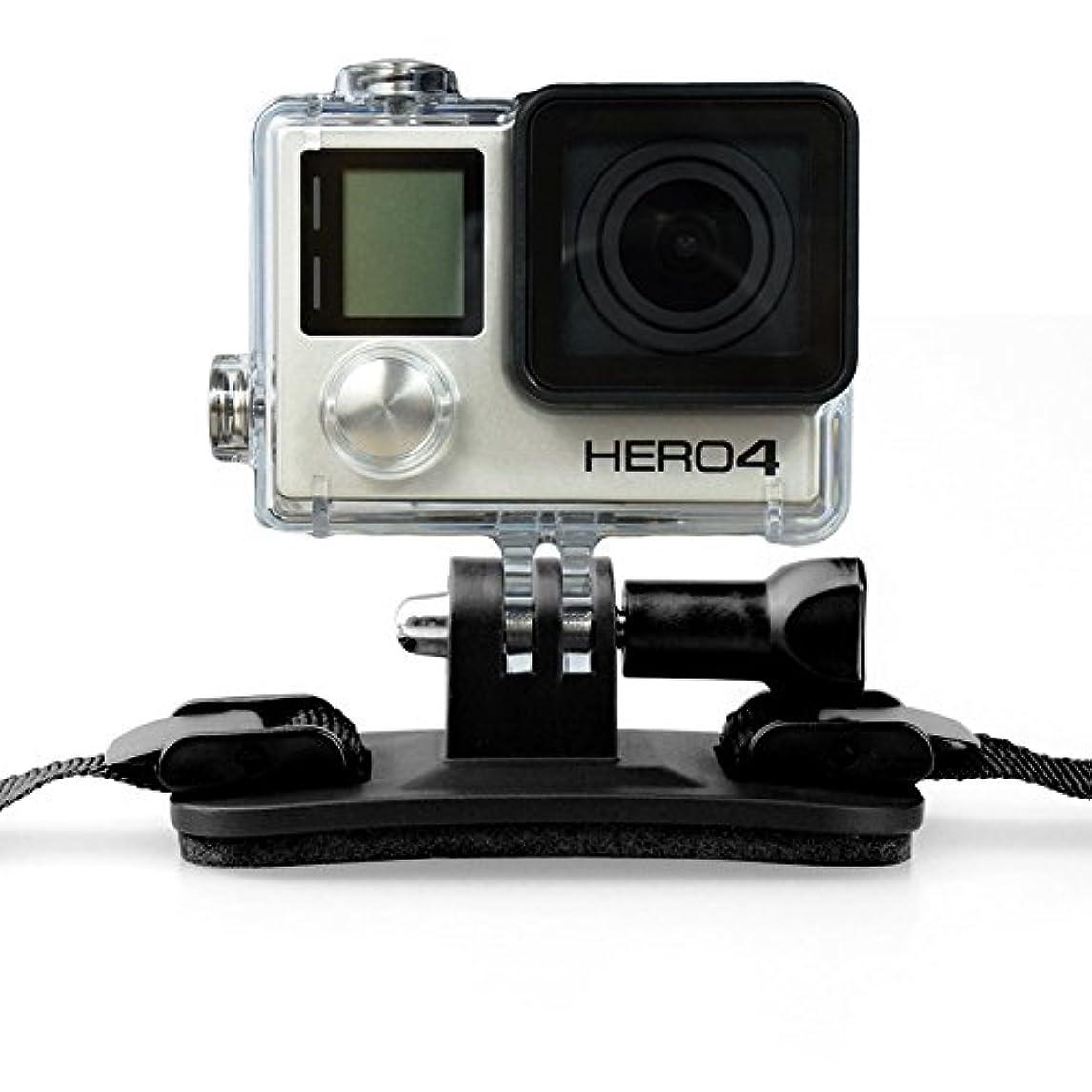 暴徒語ラウズactiveallbrite VECINO HM ヘルメット マウント Helmet mount for VECINO lights and GoPro cameras
