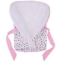 Baoblaze 9-16インチ新生児の人形用 寝袋 ブランケット プリント ベビードールアクセサリー 高品質