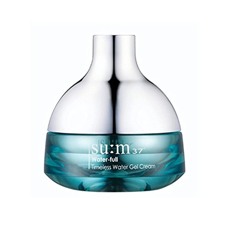 群衆露骨な防水[su:m37/スム37°] SUM37 Water-full Timeless Water Gel Cream 50ml/WF07 sum37 ウォータフル タイムレス ウォータージェルクリーム 50ml +[Sample...