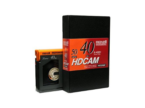 Maxell B-40HD HDCAMテープ スモールテープ40分 10本パック