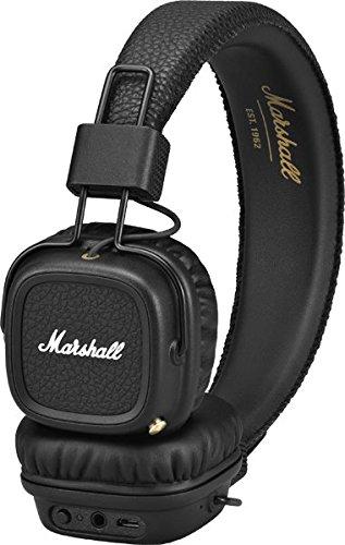マーシャルメジャーIIのBluetoothオンイヤーヘッドフォン、ブラック(...