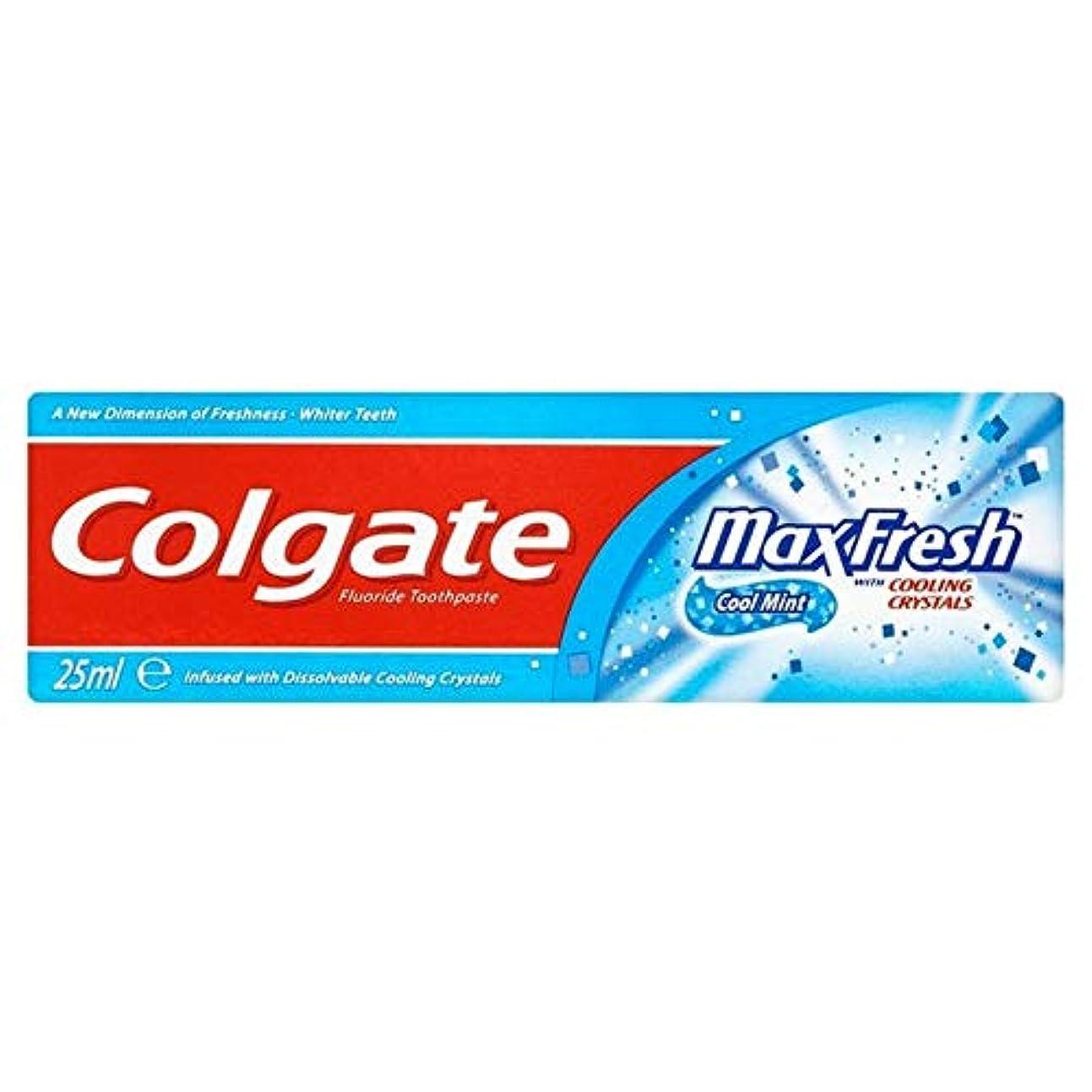 内部果てしないセブン[Colgate ] コルゲートの歯磨き粉最大の新鮮な青25ミリリットル - Colgate Toothpaste Max Fresh Blue 25ml [並行輸入品]