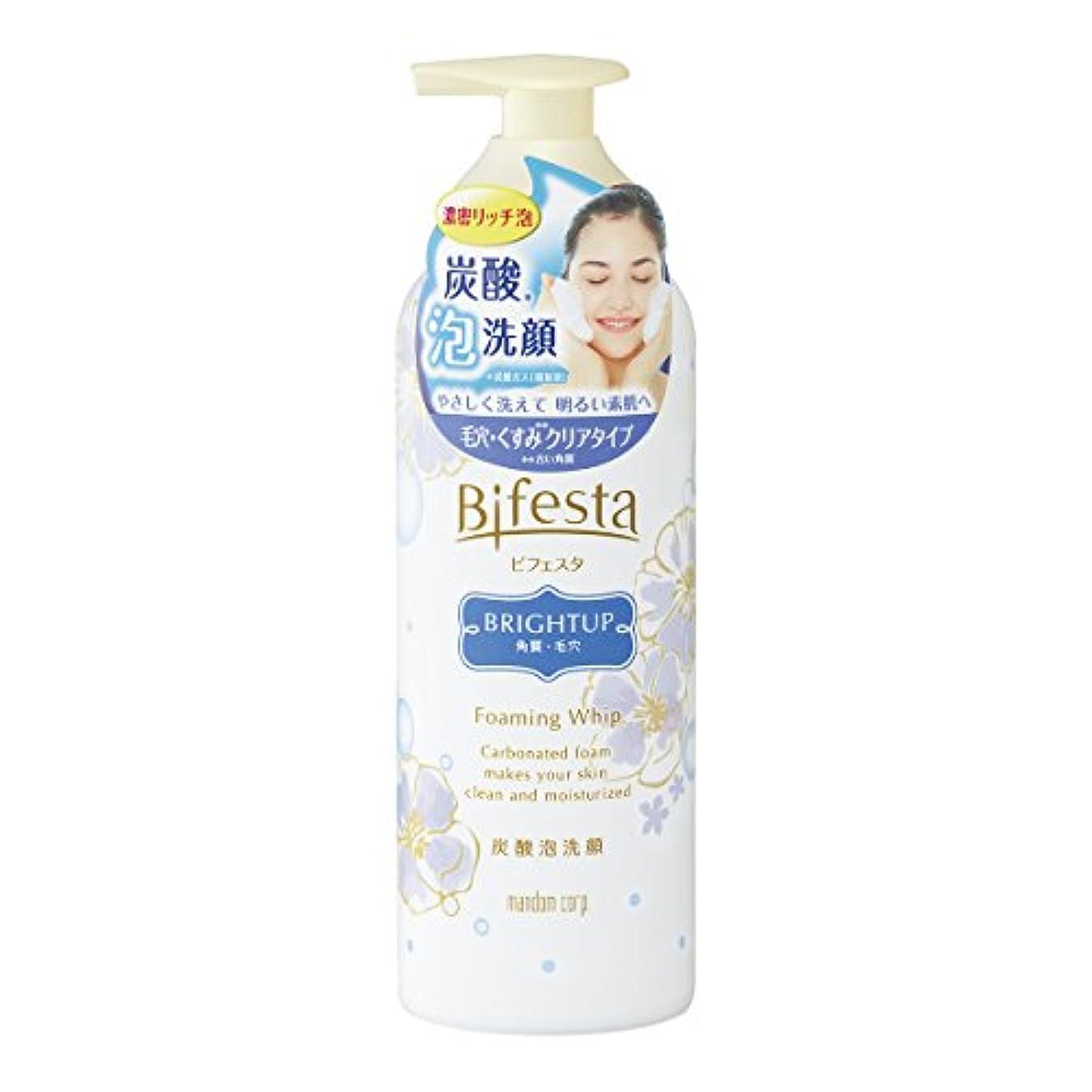 鮮やかなフラスコほこりビフェスタ 泡洗顔 ブライトアップ 180g