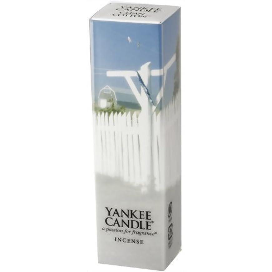 プロテスタント数俳句YANKEE CANDLE(ヤンキーキャンドル) YCインセンス クリーンコットン