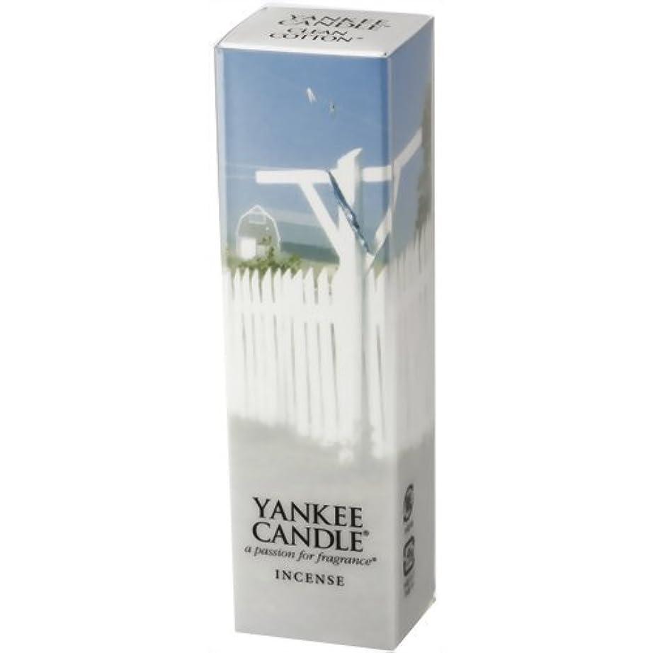 怪しいホイップ大聖堂YANKEE CANDLE(ヤンキーキャンドル) YCインセンス クリーンコットン