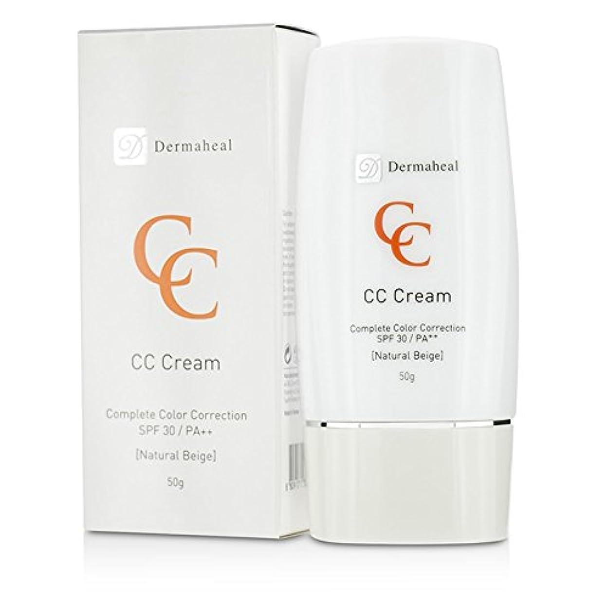 十気楽な交換ダーマヒール CC Cream SPF30 - Natural Beige 50g/1.7oz並行輸入品
