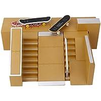 GRALARA フィンガー ボード スケートボード ランプ 部品 贈り物 子供 おもちゃ ギフト コレクション #C
