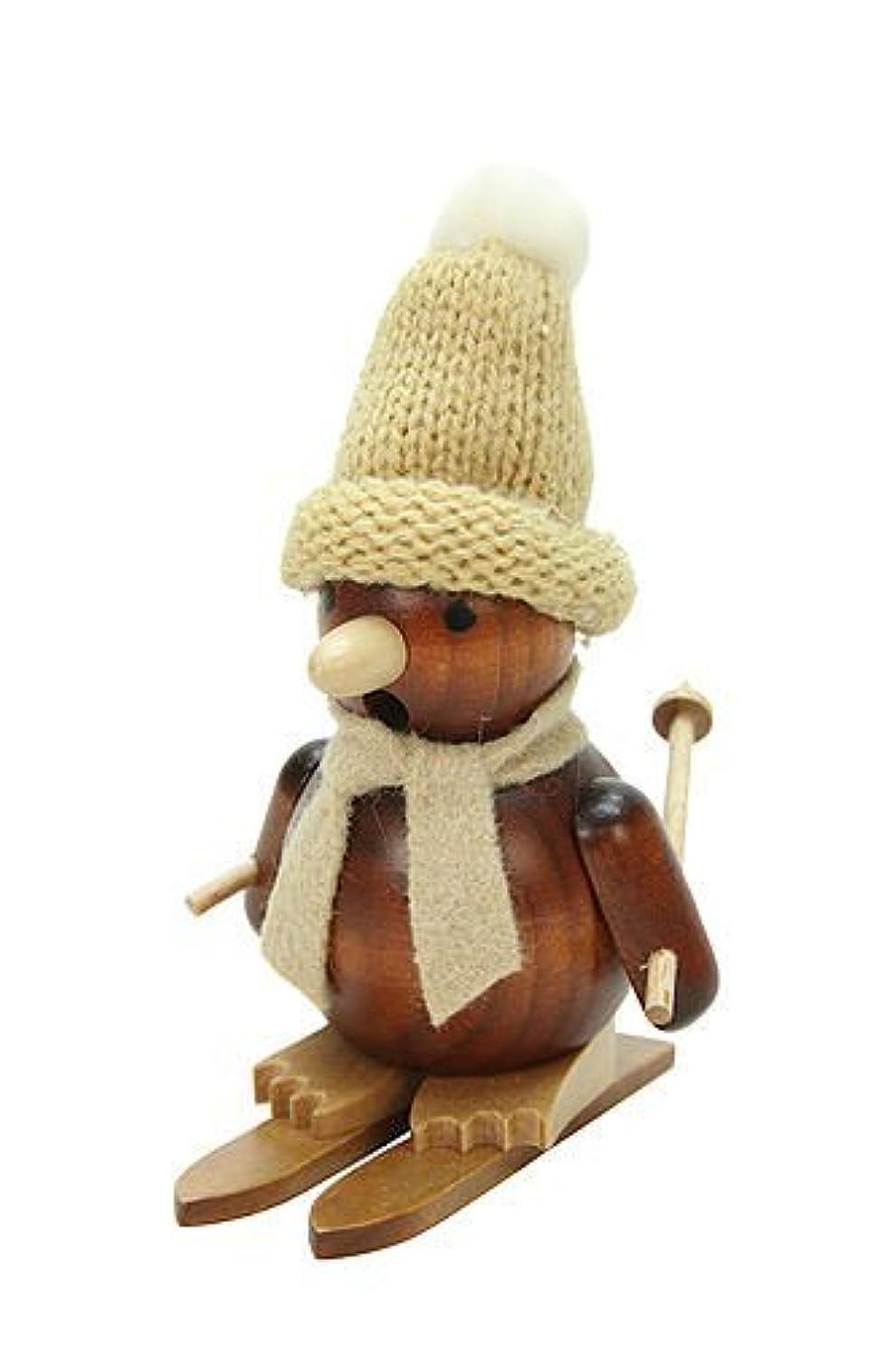 幻滅するツイン倒錯ドイツ語喫煙者Incense Penguin onスキー天然木製 – 11 cm / 4インチ – Christian Ulbricht