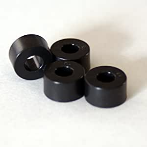 ファインメット 可飽和コア 4個 MP1006LF3T  全長6.4mm 直径11.4mm 穴径4.8mm