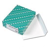 品質公園RediストリップOpen Side小冊子封筒、コンテンポラリー、12x 9、ホワイト、100/ボックス
