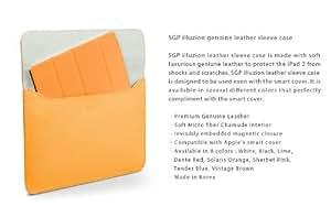 【 国内正規代理店品 】 SPIGEN SGP iPad2 / 新しいiPad(第3世代) 本革 ケース illuzion 【 ソラリス・オレンジ 】 SGP07632