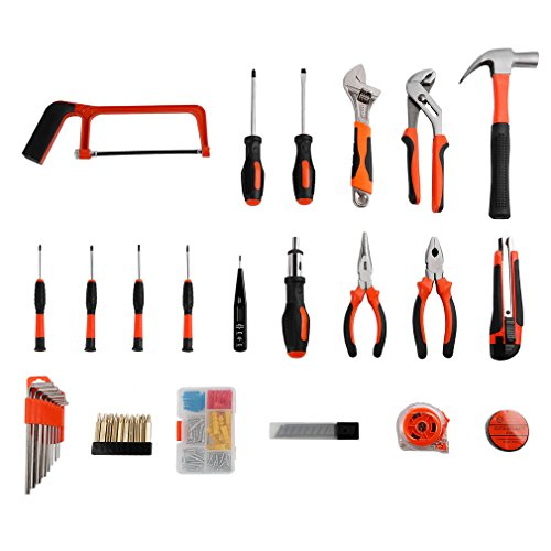 ツールキット LESHP 精密ツール ホームツールセット 工具セット 作業道具セット ガレージツールセット ツールキット 家庭修理&作業用 100点