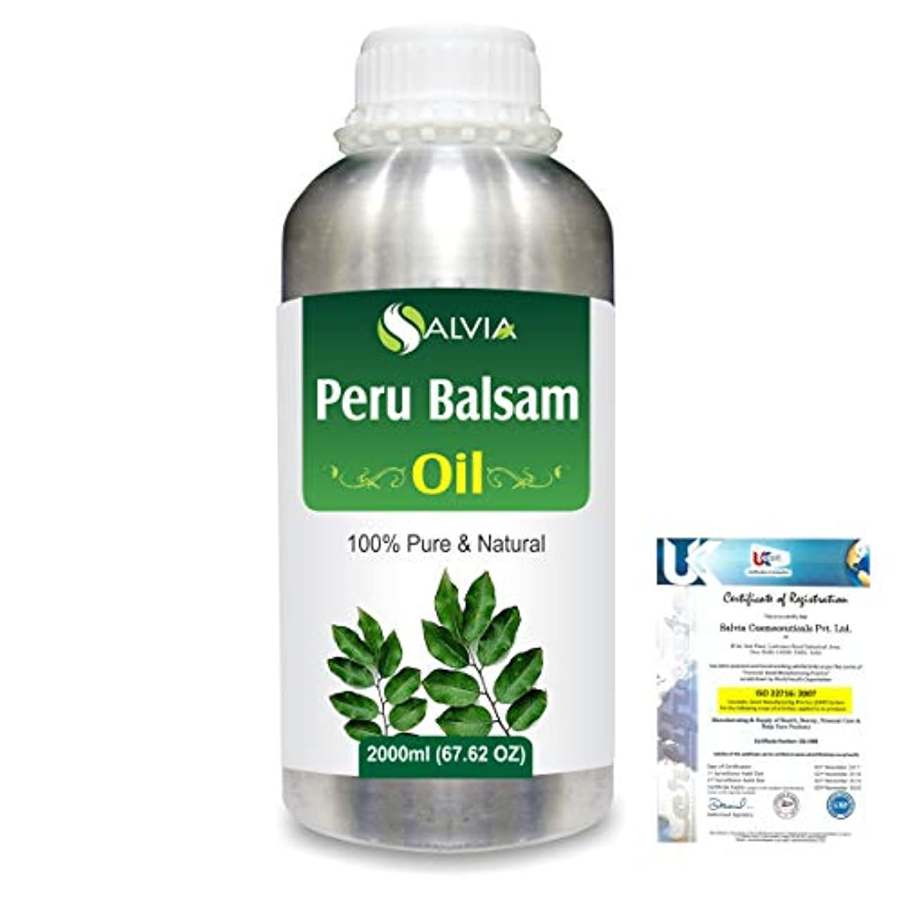 感じコンデンサー盗難Peru Balsam (Myroxylon Pereirae) 100% Natural Pure Essential Oil 2000ml/67 fl.oz.