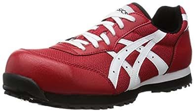 [アシックスワーキング] asics working 安全靴作業靴 ウィンジョブ 32L FIS32L 2301(レッド/ホワイト/22.5)