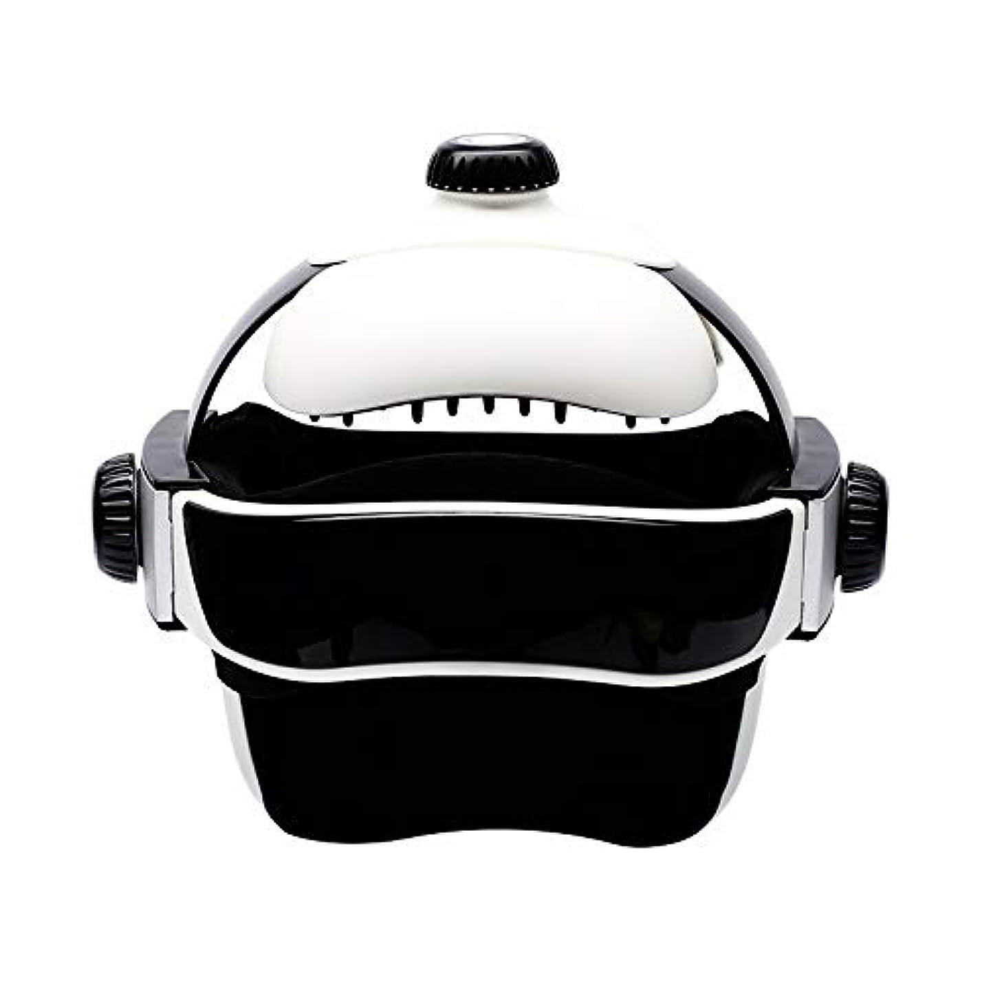 ロードされた誇張ジョージバーナードヘルメットの電動が機能している頭皮は同じタイプのマッサージ器です [並行輸入品]