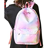 Fashion and Simple Student Schoolbag College Style Backpack Women Waterproof Polyester Travel Schoolbag