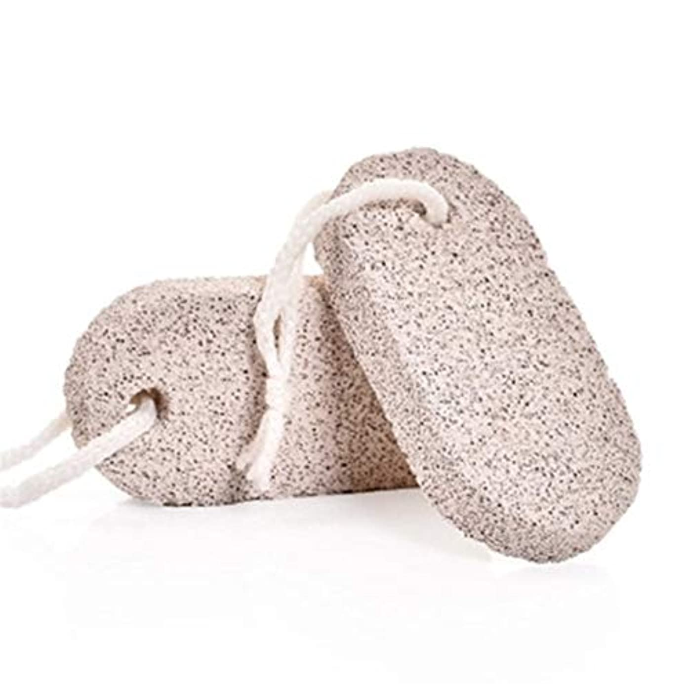 足枷曲ぼんやりしたMaltose 足 軽石 足軽石の足爪ブラシ 角質除去 血行促進 お風呂グッズ セルライト除去 足 2個