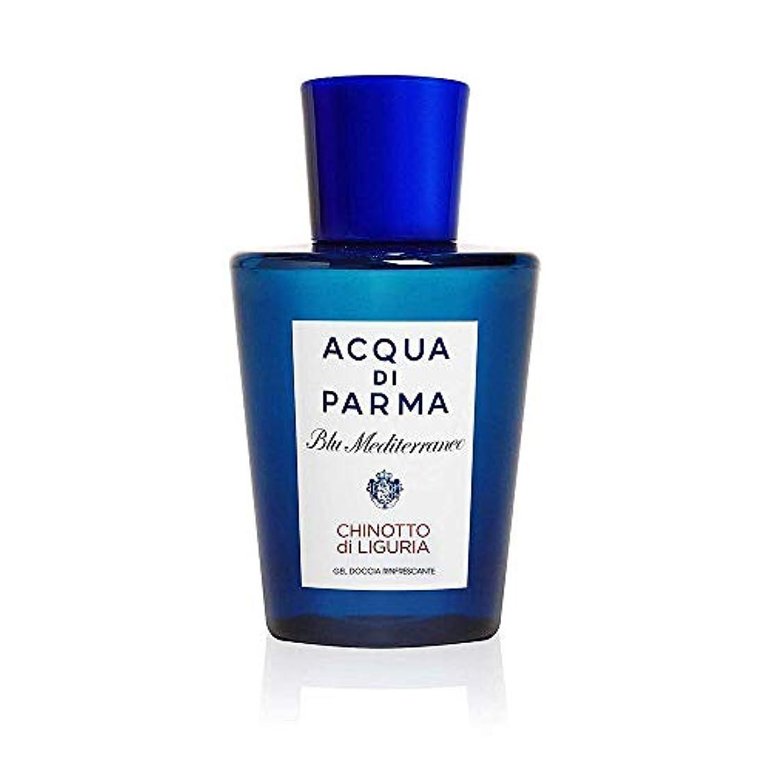 節約ローマ人苗アクアディパルマ Blu Mediterraneo Chinotto Di Liguria Refreshing Shower Gel 200ml/6.7oz並行輸入品