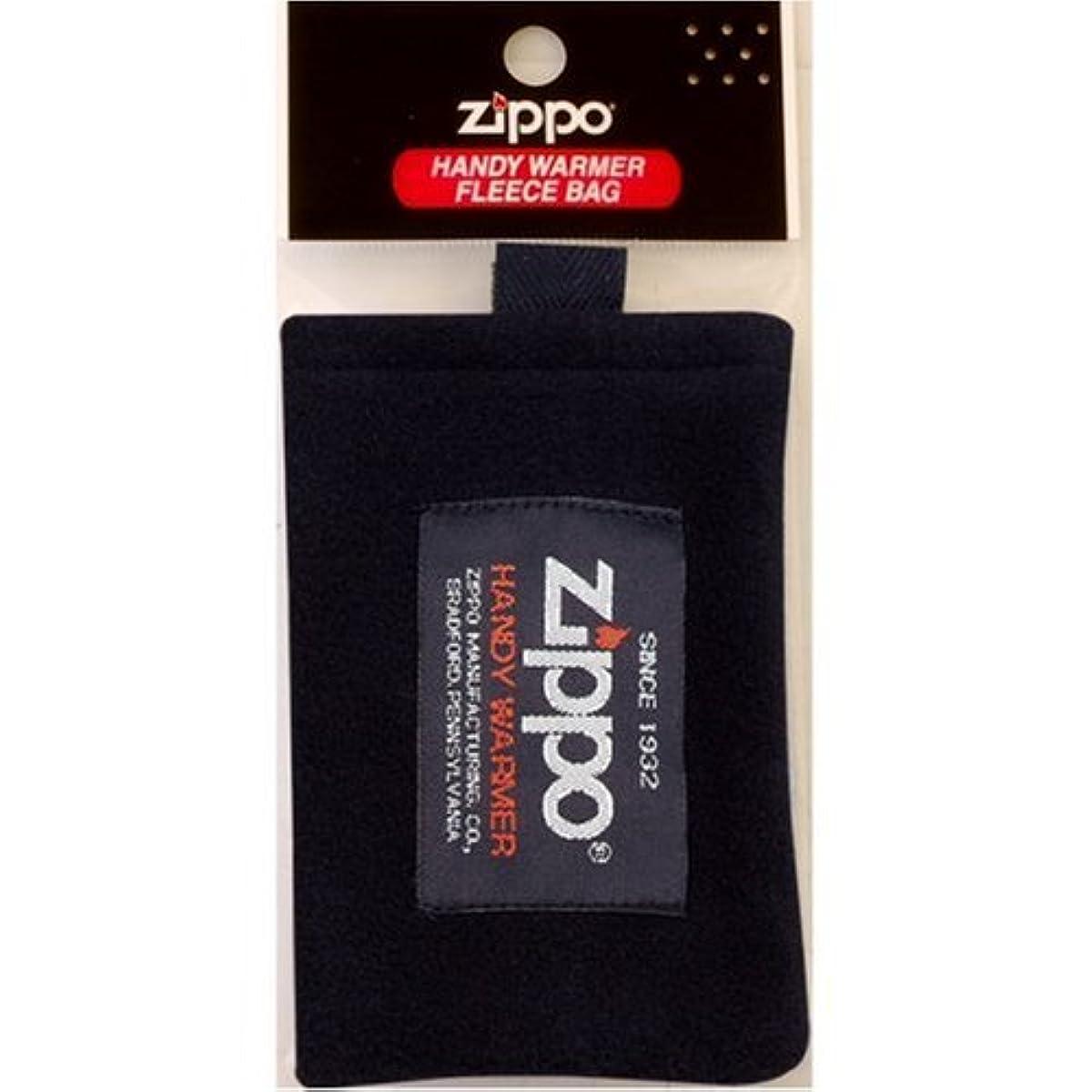 養う代表する繁殖ZIPPO(ジッポー) ハンディーウォーマー用 フリース袋 ZHF-BK
