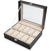Reodoeer 腕時計収納ケース 腕時計収納ボックス コレクションケース 10本用