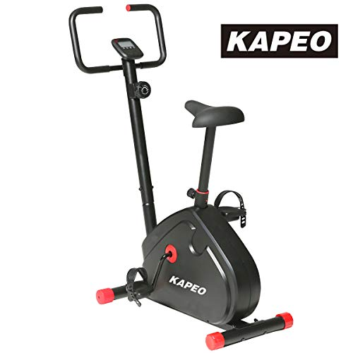 KAPEO エアロマグネティックバイク 8段階負荷調節 静音フィットネスバイク 室内動感単車 スピンバイク メーカー1年保証