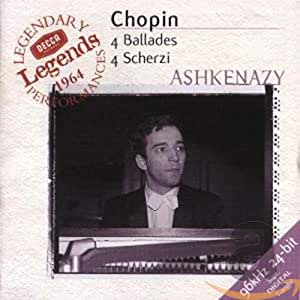Chopin: 4 Ballades, 4 Scherzi / Ashkenazy