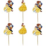 Beauty And The Beast Cake Topper Set Of 24 PCS