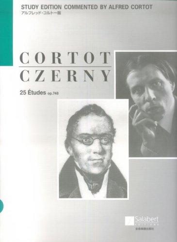 アルフレッドコルトー版 ツェルニー 25のエチュード op.748 CD付