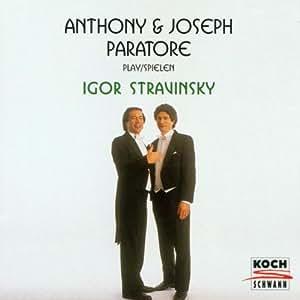 Stravinsky;Conc.for 2 Pianos