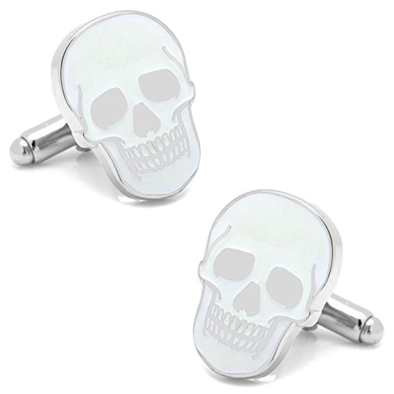 グローインダーク スカル カフス カフスカフスリンク カフスボタン cc-skull-glow