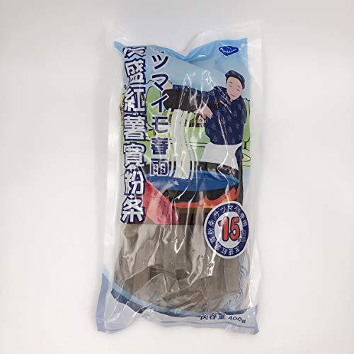 友盛紅薯寛粉条(約15mm) サツマイモ春雨 お鍋の具 中華物産 400g