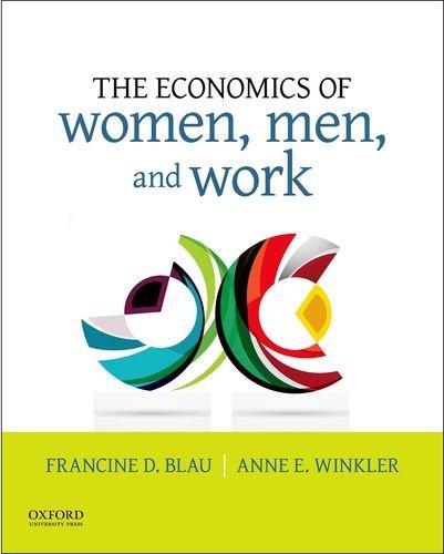Download The Economics of Women, Men, and Work 0190620854