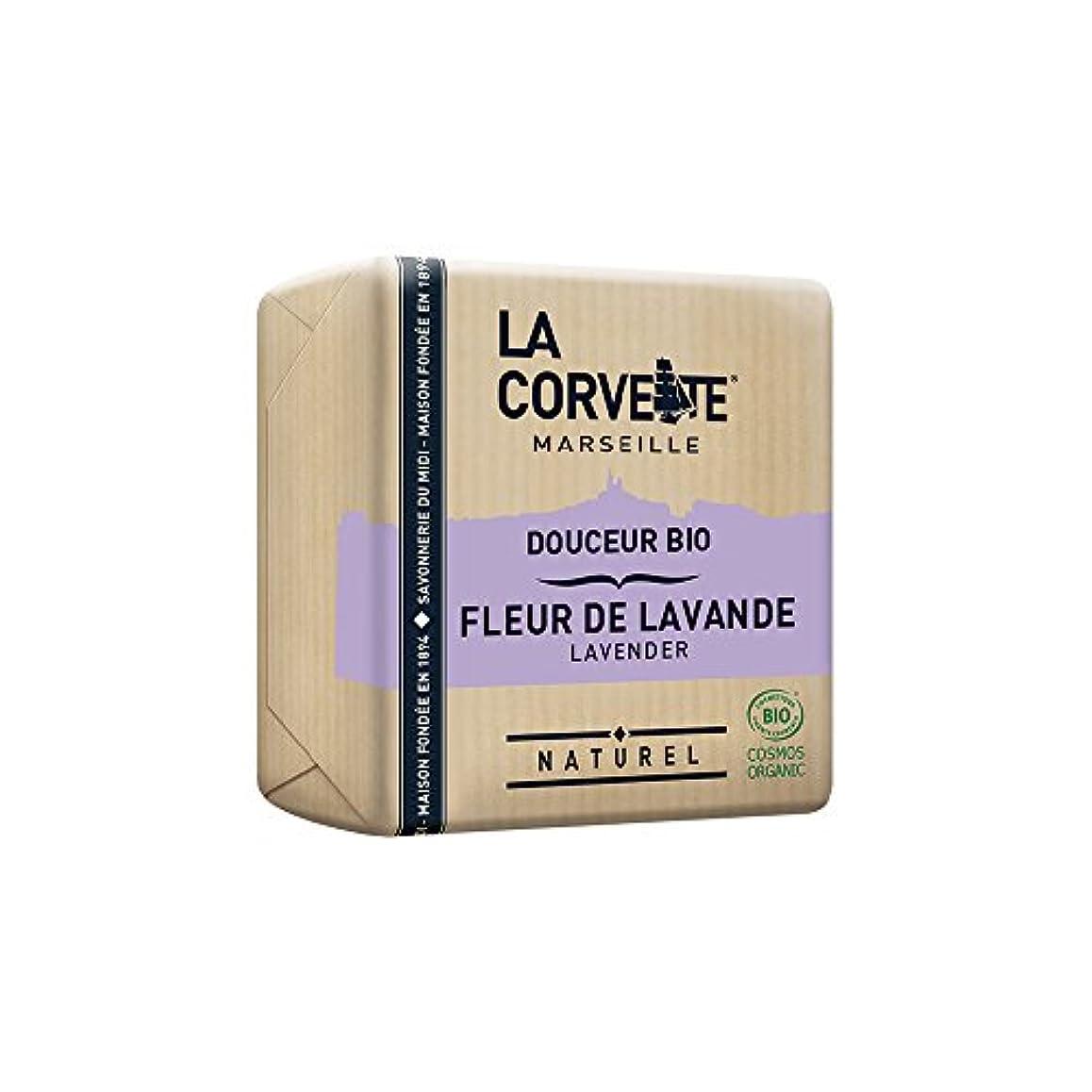 章複数能力La Corvette(ラ?コルベット) サボン?ドゥスール?ビオ ラベンダー 100g