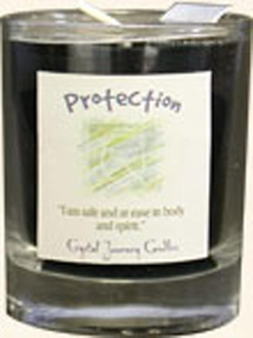 クモ経験者慢性的クリスタルJourneyハーブマジックガラスFilled Votive Candle
