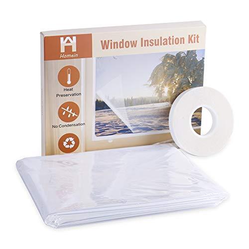 窓ガラス断熱シート 結露防止シート 透明 二重窓原理 隙間風防止 冷暖房効果...