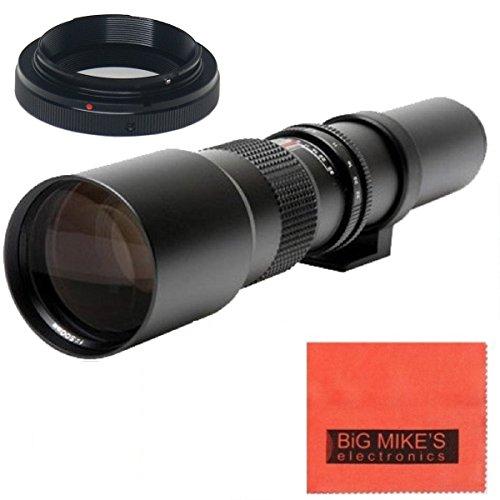 高電力500mm f / 8手動望遠レンズfor Nikon 1j5、1j4、1j3、1j2、1s2, 1s1、1V3、1V2、1V1、1aw1コンパクトミラーレスデジタルカメラ